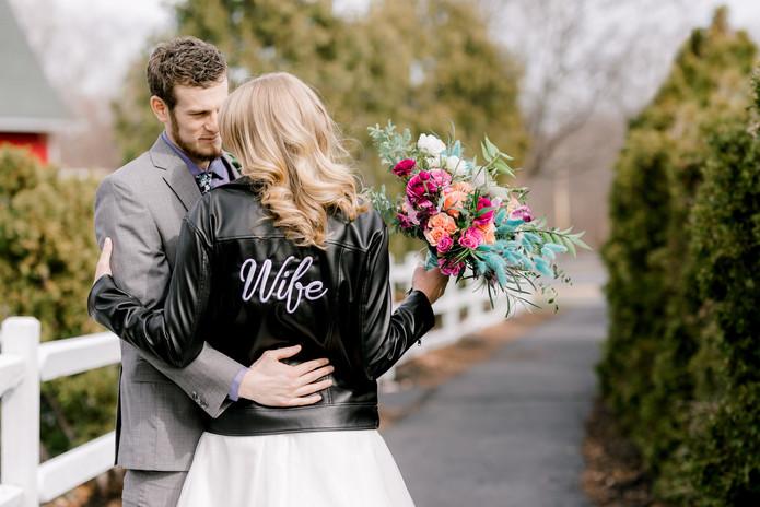 Wife Leather Moto Jacket