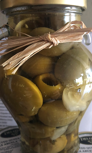 "Pitted Queen Olives ""LA ABUELA"" Recipe"
