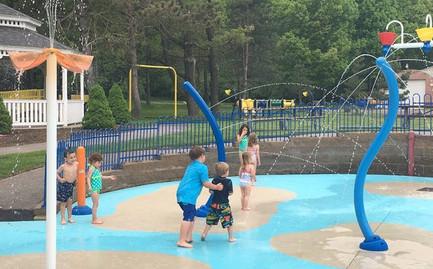 Camp Eastman Spray Park