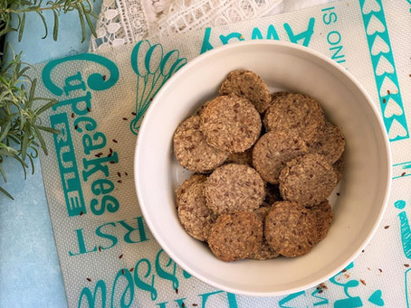 Crackers con semillas