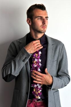 Floral fashion tie