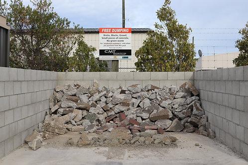 Cleanfill dump bin