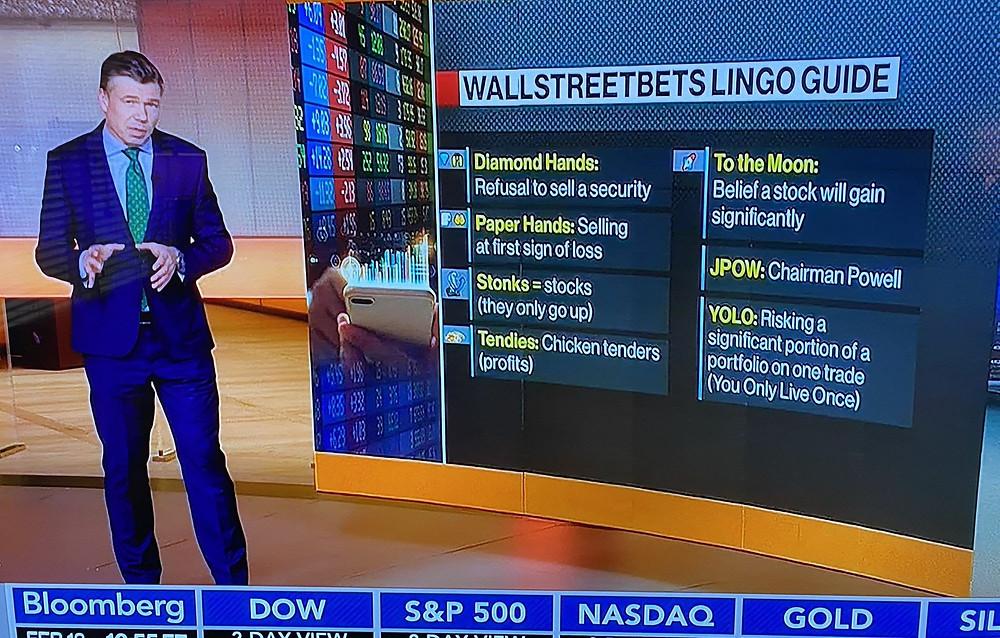 WallStreetBets Market Lingo - Stonks and Tendies