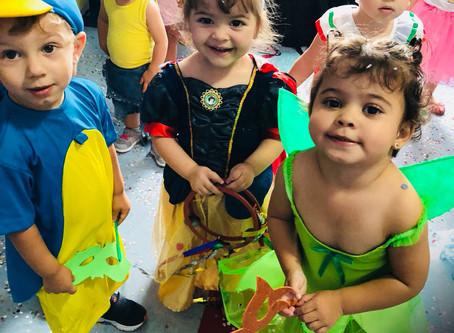Baile de carnaval Maternalzinho e Infantil Parte II 🎊