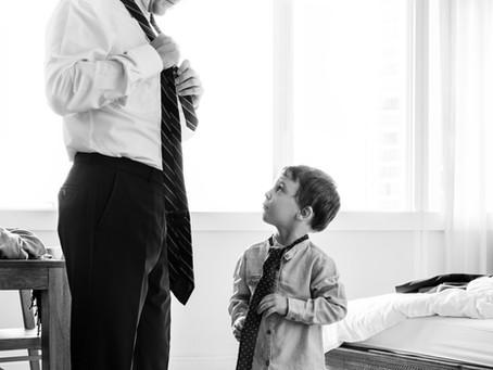 Como nossas atitudes influenciam nossos filhos?