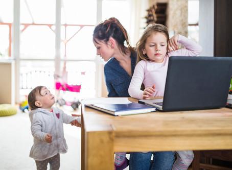 4 dicas para conciliar o trabalho com os filhos