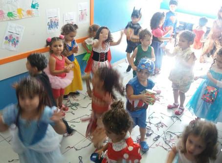 Baile de carnaval Maternalzinho e Infantil parte I 🎊