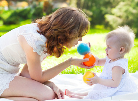 Ideias de brincadeiras para bebês