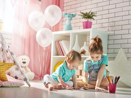Método Montessori, auxílio no desenvolvimento das crianças.
