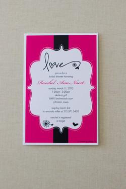 Bridal Shower Invite - Raechel