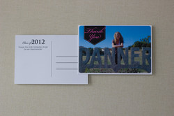Graduation Thank You {front & back}