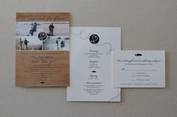 Invitation Set {front & back}