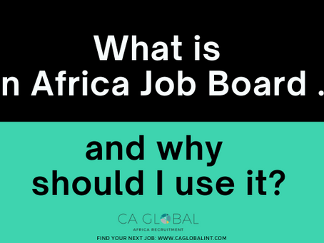 What is an Africa Job Board and why should I use it?