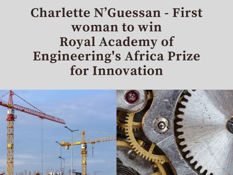 Charlette N'Guessan - First Woman to Win Africa Prize - Ivorian AI Engineer