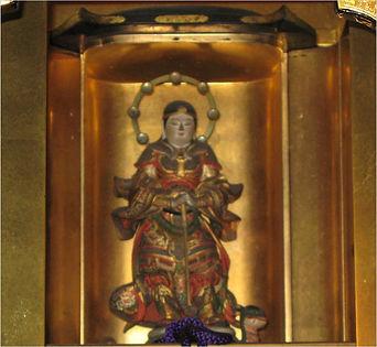 本松寺の守護神 妙見尊