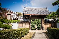 日蓮宗 本松寺正門