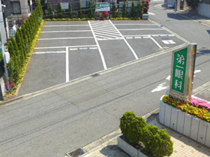 第一眼科駐車場