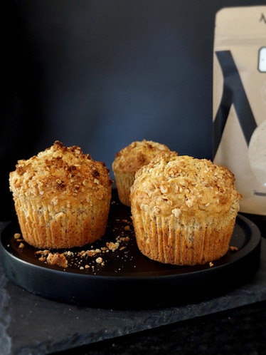Muffins au sucre d'érable