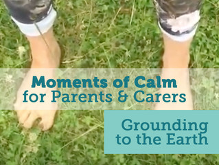 Mindfulness Moments of Calm - Day 2 (Getting Grounded)