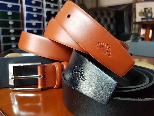 Harris & Howard Brown and Blue Reversible Belt