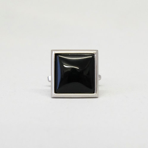 Square Black Onyx Cufflinks