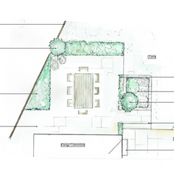 Broadhembury Courtyard Garden