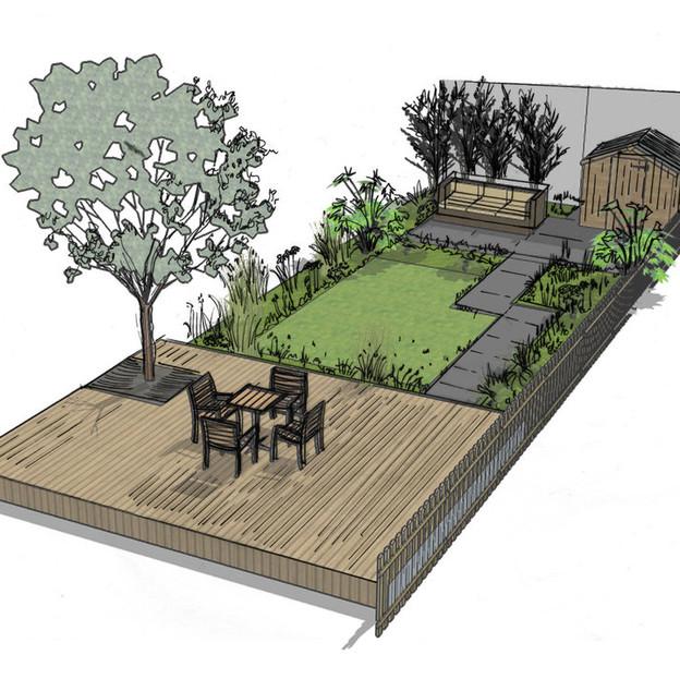 Walthamstow Garden