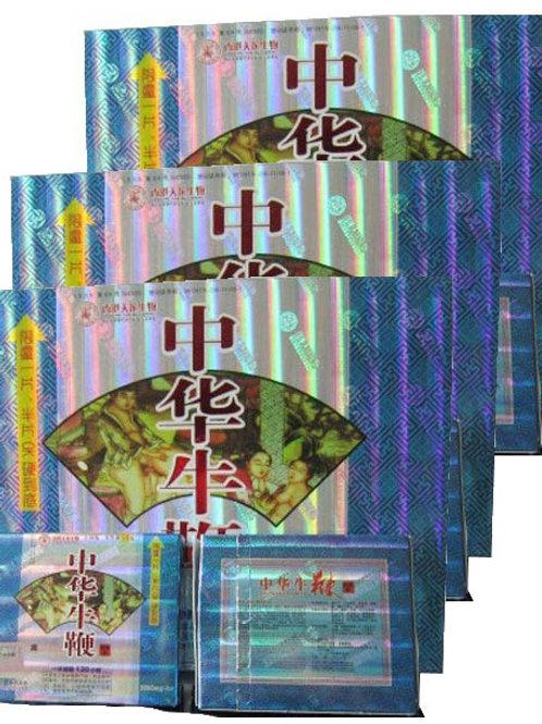 Zhong Hua Niu Bian one large box 36 pills