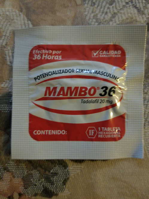 mambo 36 1 pill