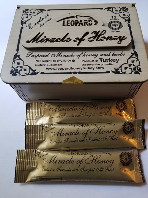MIRACLE HONEY12 in pack, excellent for man, sex enhancement