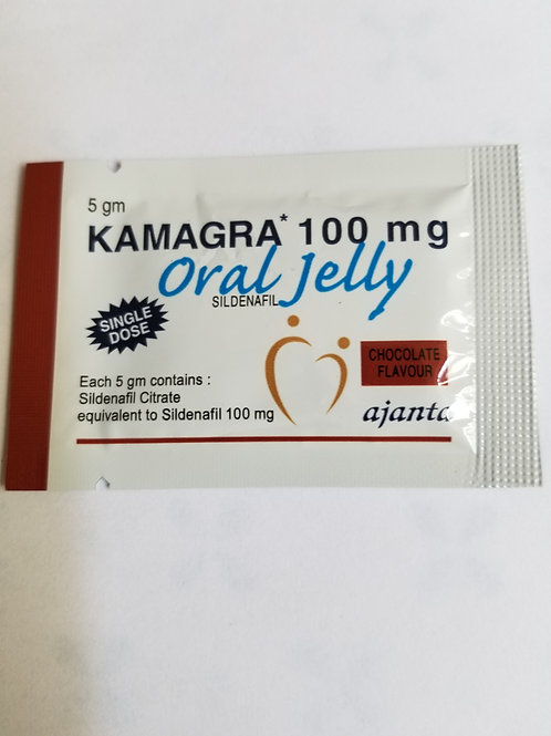 Kamagra oral  jelly is applied for the treatment of erectile in men and pu