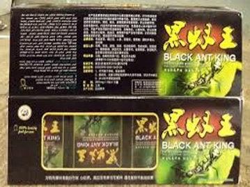 Black Ant King big box 12 small can 120 pills inside