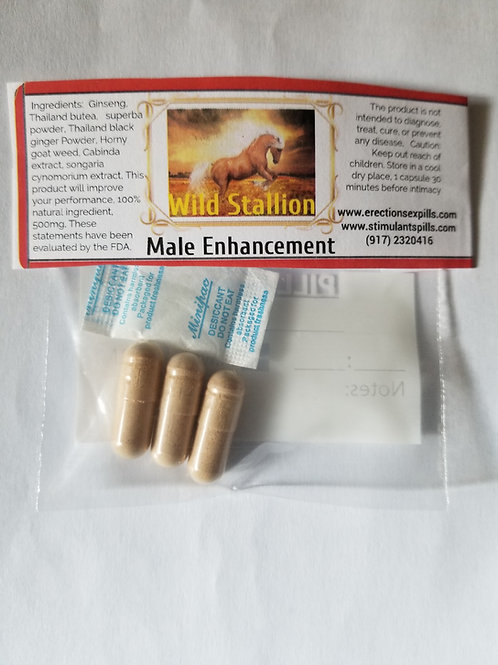 Wild Stallion Improve sexual performance 10 pills