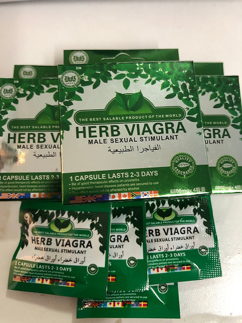 Herb Viagra (4 pills)