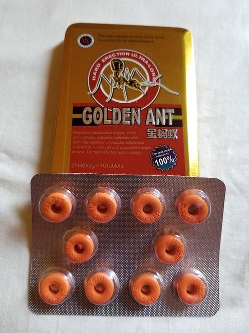 Golden Ant 10 pills