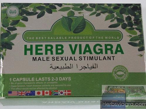 Herb Viagra Sex Pills – 1 Box – 20 Packets (80 Pills)