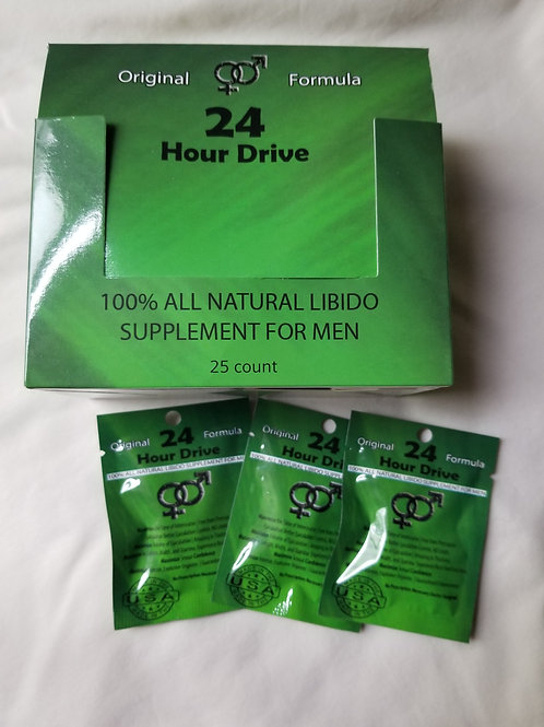 100% All Aatural Libido for men; 50 pills