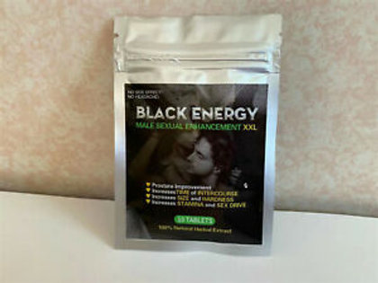 Black Energy, 10 pills, increases Stamina and sex Drive
