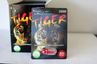 Tiger 35000 Male Enhancement big box 24 pills