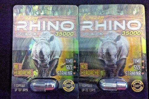 KRAZZY RHINO 35000 big box 24 pills