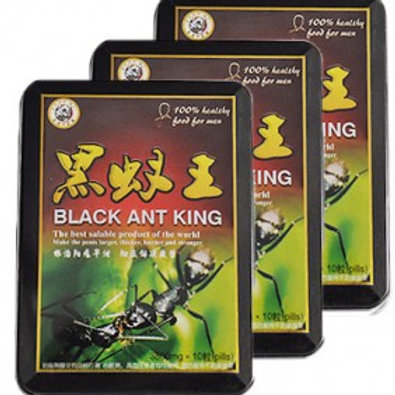 001 Black Ant King three cans thirty 30 pills