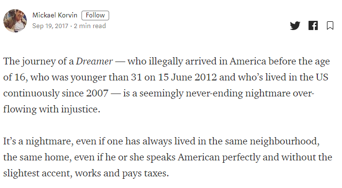 they're called dreamers because their life's a nightmare