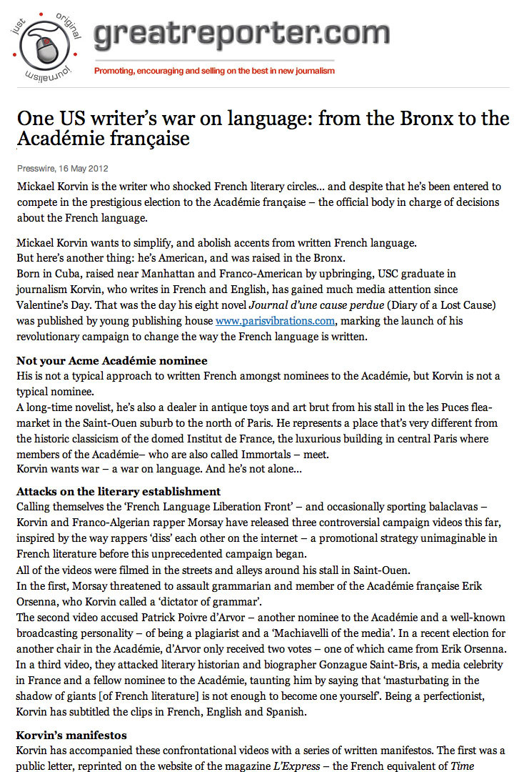 7 - One US writers war on language
