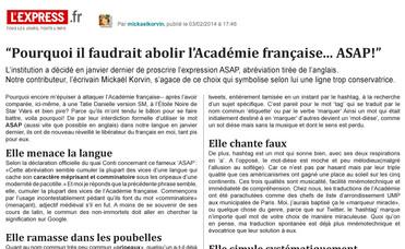 Abolir l'Académie p2.