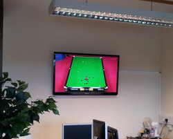 Galaxy Aerials - Wall Mounted TV Work We Have Done