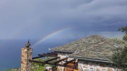 Beautiful Rainbow on a rainy day