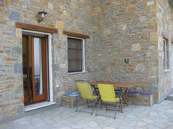 Outdoors sitting area (A/B)- Orlys'