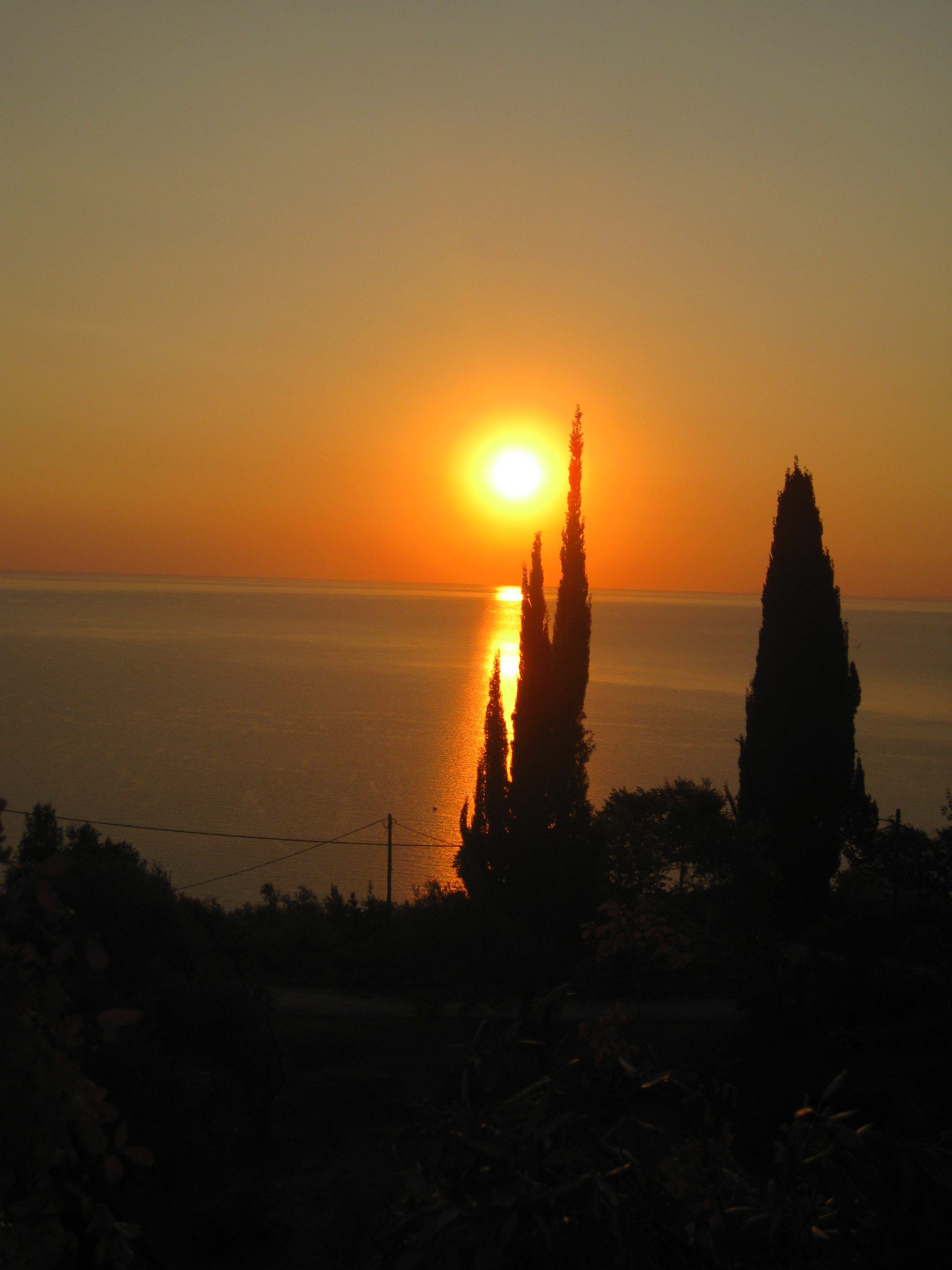 Sunrise at Orlys' Villas