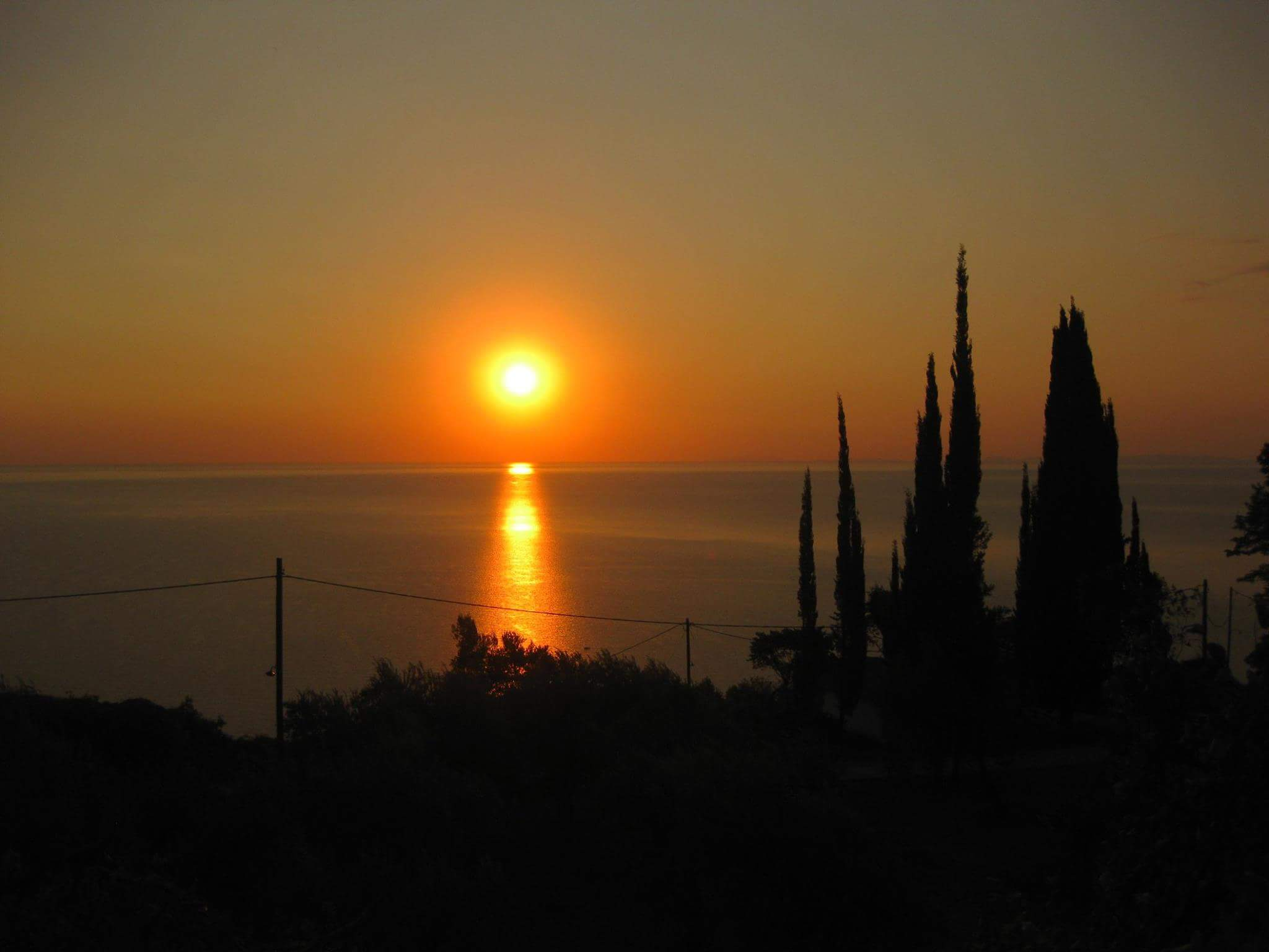 Sunrise Pelion Greece