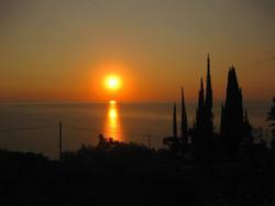 Sunrise Pelion Greece